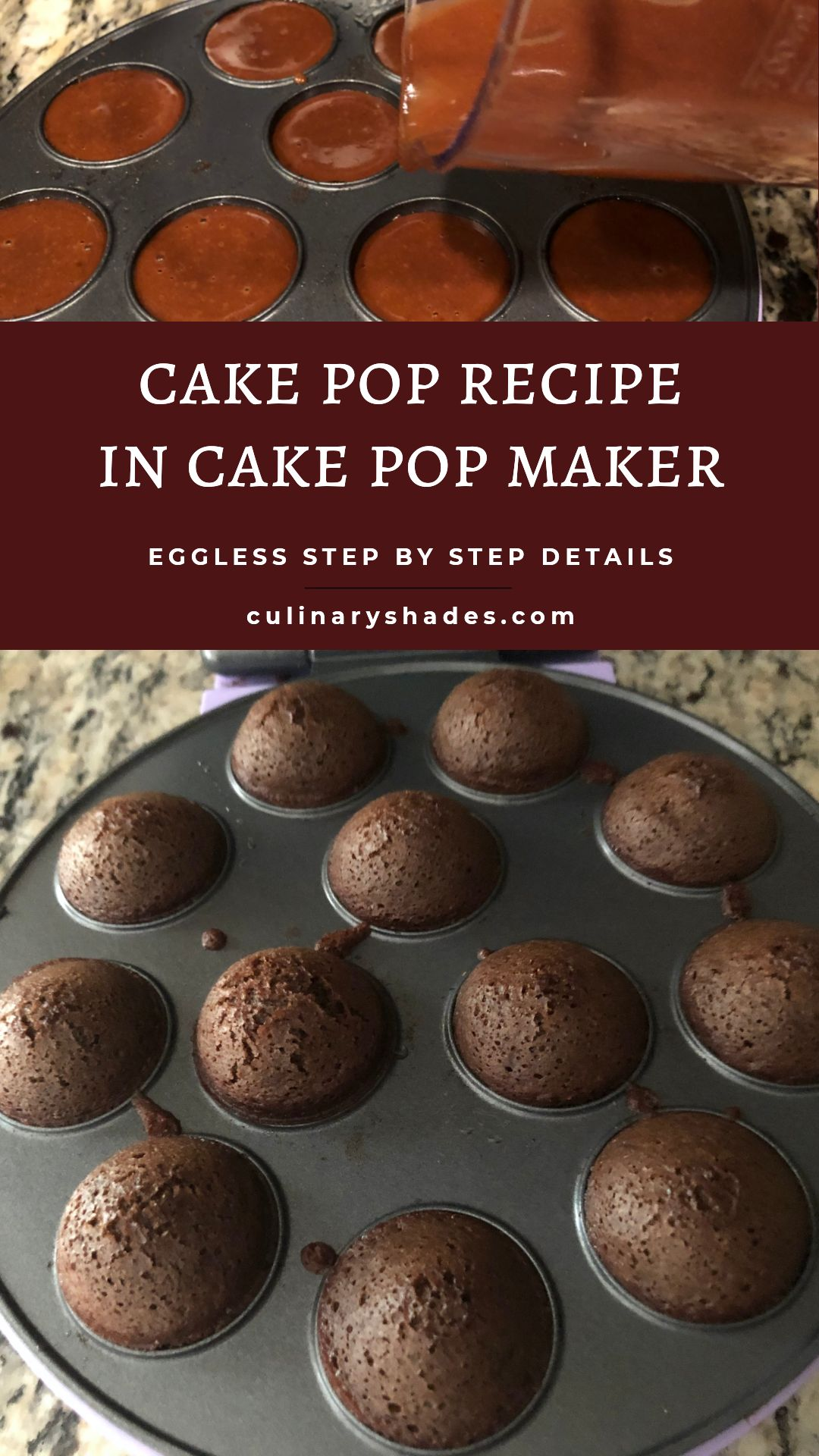 Cake Pops Recipe With Cake Pop Maker